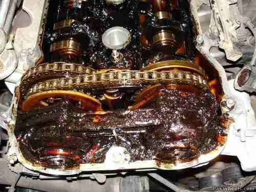 عوارض استفاده از روغن موتور غیر استاندارد